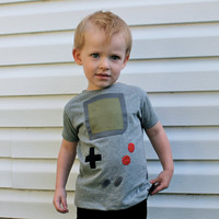 toddler boys gameboy shirt
