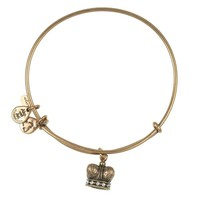 King's Crown Charm Bracelet  | Alex and Ani