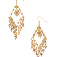Filigree Diamonds Earrings | FOREVER21 - 1008586187