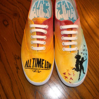 Hand Painted All Time Low Shoes