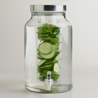 Glass Infuser Dispenser | World Market