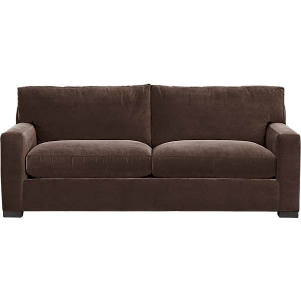 axis 2 seat sleeper sofa in sleeper from crate and