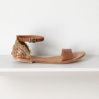 Shimmered Nolina Sandals