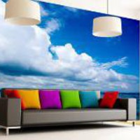 Heavenly Horizon Wall Mural Decal