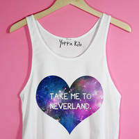 Take Me To Neverland Crop Tank Top | Yotta Kilo