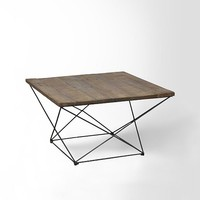 Angled Base Coffee Table