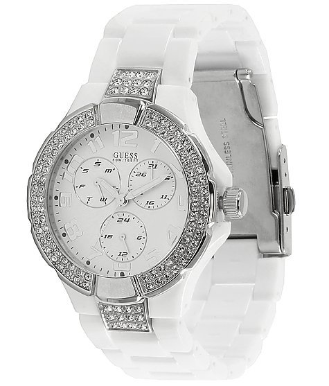 guess rhinestone s watches from buckle