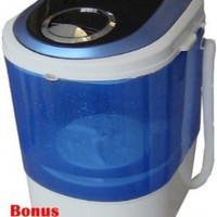 Bonus Package Panda Small Mini Portable Compact Washer Washing Machine 5.5lbs Capacity:Amazon:Appliances