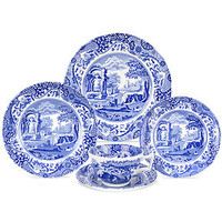 Spode Dinnerware, Blue Italian Collection - Casual Dinnerware - Dining & Entertaining - Macy's