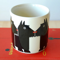 Taylor & Ng Minimals Mug Scottish Terrier
