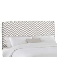 Zig Zag Upholstered Headboard Collection