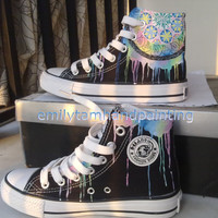 Dreamcatcher Converse Sneakers-Custom Shoes Hand Painted High Top