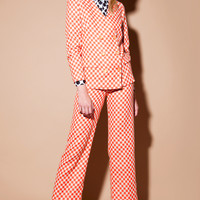 Shop Vintage | 1960s Mod Checkered Suit | Thrifted & Modern