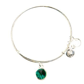 May Birthstone Charm Bracelet | Alex and Ani