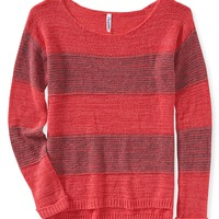 Rugby Stripe Sweater - Aeropostale