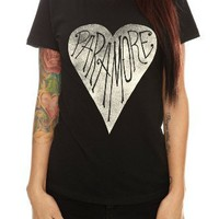 Paramore Heart Girls T-Shirt Plus Size