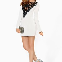 Nasty Gal French Love Dress
