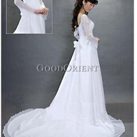 Peaceful Lake Wedding Gown