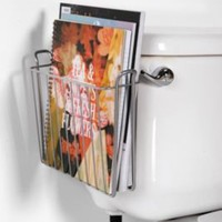 Magazine Toilet holder