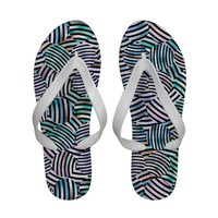 Mix #481 - Designer Flip Flops from Zazzle.com