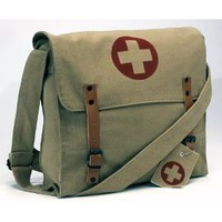 Rothco Battlefield Messenger Medic Bag