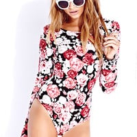 Sweet Rose Bodysuit | FOREVER 21 - 2000051387