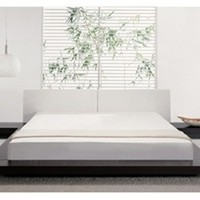 George Platform Bed | George Platform Bed, Platform Modern Bedding, Modern Contemporary Beds, Bedroom Furniture