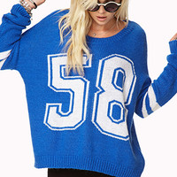Athletic 58 Sweater | FOREVER 21 - 2078567607