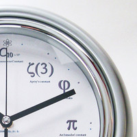 Geek Clock  I&#x27;ll meet you at PI for Pie by YOUgNeek on Etsy