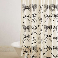 Anthropologie - Bow-Tie Shower Curtain