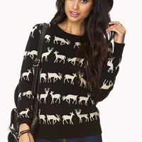 Reindeer Parade Sweater