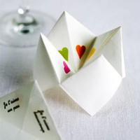 Love Origami Wedding Favour ? Cox & Cox, the difference between house and home.