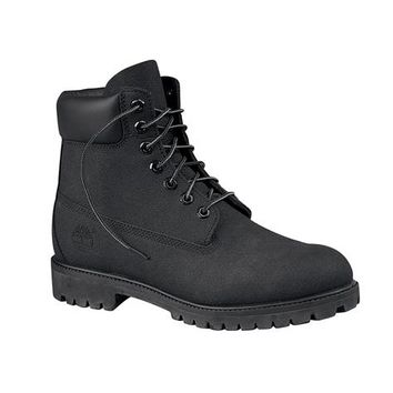 mens timberland 6 scuff boot black at from journeys button
