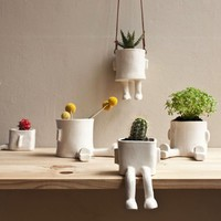 Ceramic Hanging Pot | The Gadget Flow