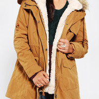 Members Only Faux Fur-Lined Parka
