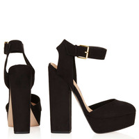SHELLY Cutout Back Platforms - Heels - Shoes - Topshop