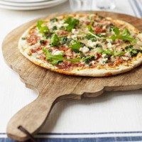 Round Wooden Pizza Bread Cheese Platter ? Cox &amp; Cox, the difference between house and home.