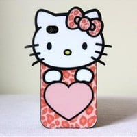 Premium Hello Kitty Cover For Iphone 4 & 4S - 29 N Under