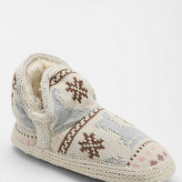 MUK LUKS Amira Snowday Slipper-Sock Ankle Boot