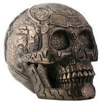 YTC Summit Bronze Aztec Skull:Amazon:Home & Kitchen
