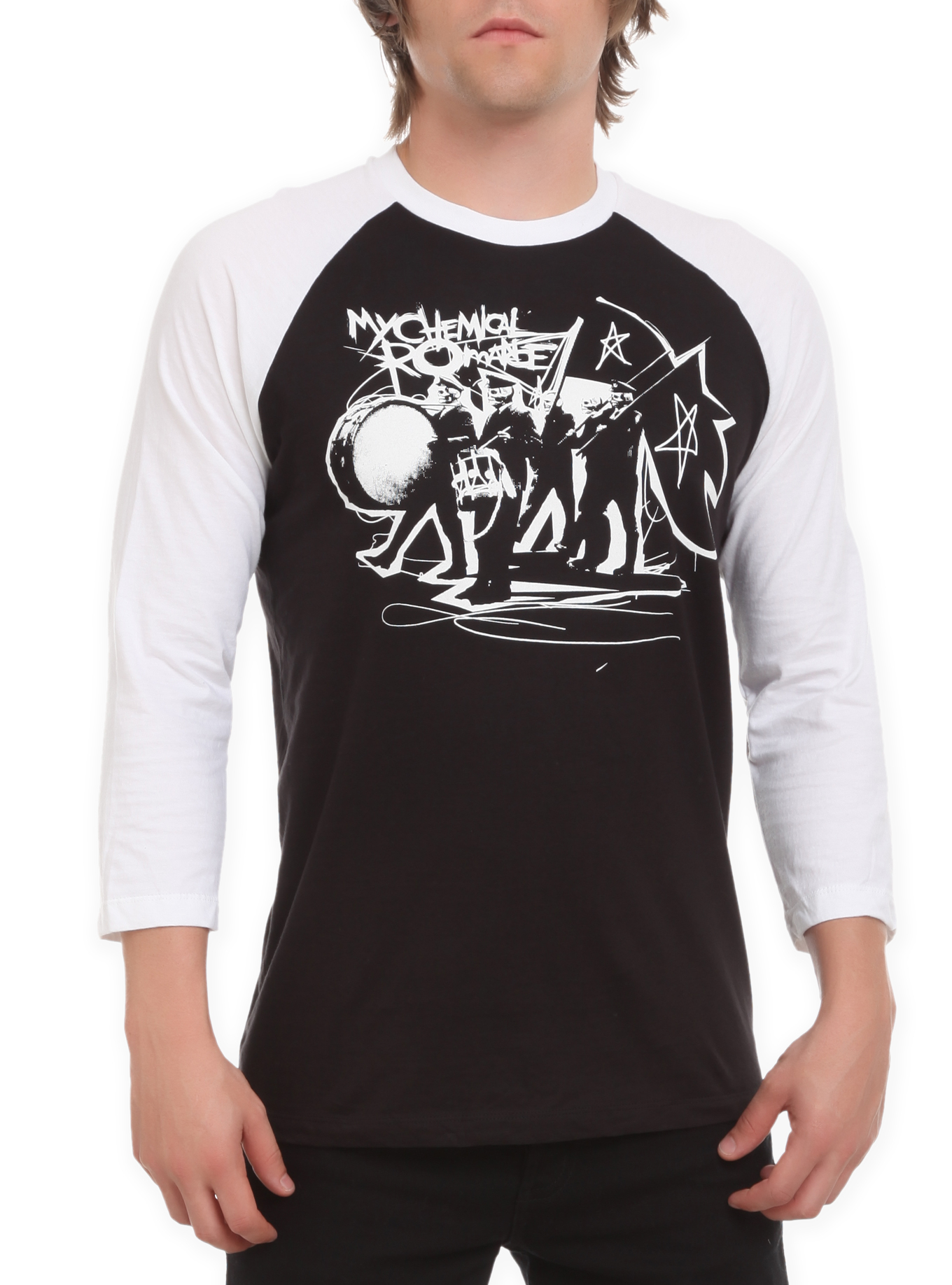 my chemical romance black parade raglan from hot topic scene