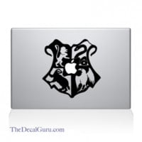 Hogwarts Crest Large Macbook Decal | Macbook Vinyl Decals | The Decal Guru