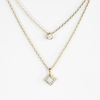 Urban Outfitters - Diamond High/Low Necklace