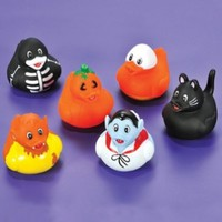 Halloween Rubber Ducks - Set of 12 Duckies/Ducky/Duckie:Amazon:Everything Else