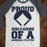 Proud Baseball Girlfriend
