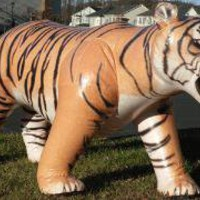 Giant  Inflatable Lifelike Tiger - Lazybone