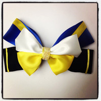 Beauty and the Beast disney inspired hair bow