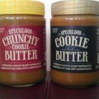 Variety Pack - Trader Joe's Speculoos Cookie Butter (1 Smooth and 1 Crunchy) - Total of 2 Jars.