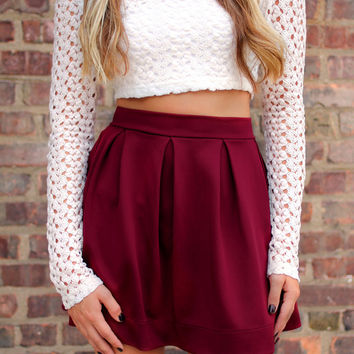 Twirling Circles Skirt