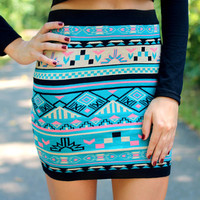 Mountain Sunrise Skirt
